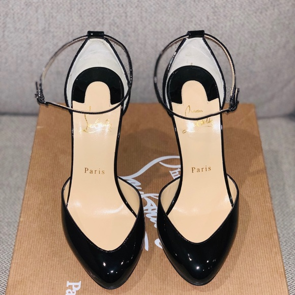 e3a25cef6af6 Christian Louboutin Shoes - Christian Louboutin Dollyla Patent Leather Heels
